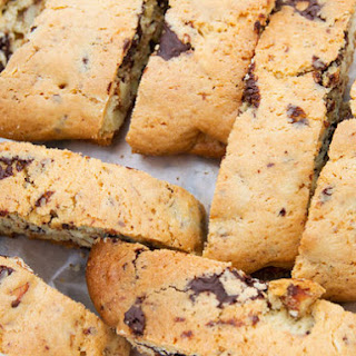 Chocolate Orange Biscotti with Almonds