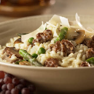 Sausage & Vegetable Risotto.