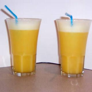Orange Pineapple Slushie.