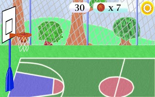 Screenshot of Target Basketball