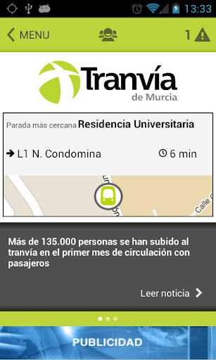 Tranvía de Murcia APP Oficial