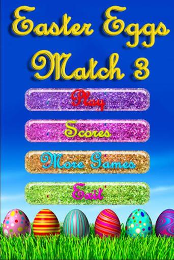 Easter Eggs Match 3