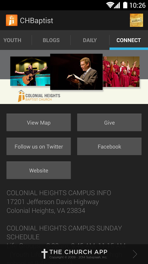 The Heights Baptist Church App - screenshot