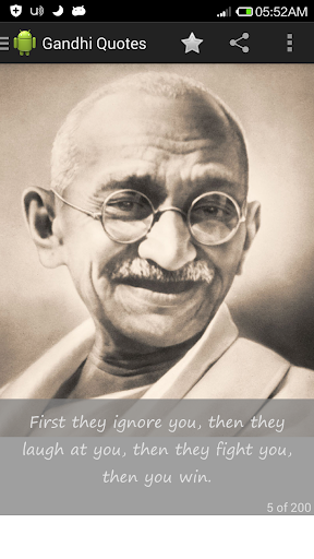 Gandhi on Peace