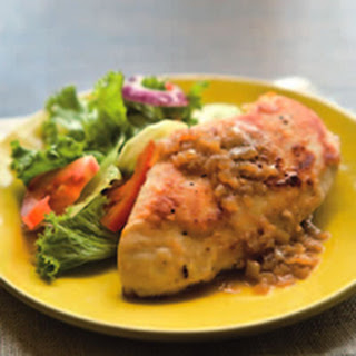 Chicken Breasts with Pan Gravy Recipe