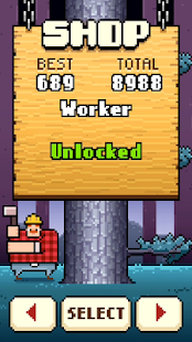 Timberman (Unlocked Characters&Ad-Free)