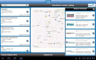 Screenshot of Norton Abrasives