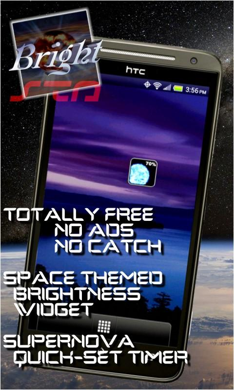 Brightness Widget Supernova - screenshot