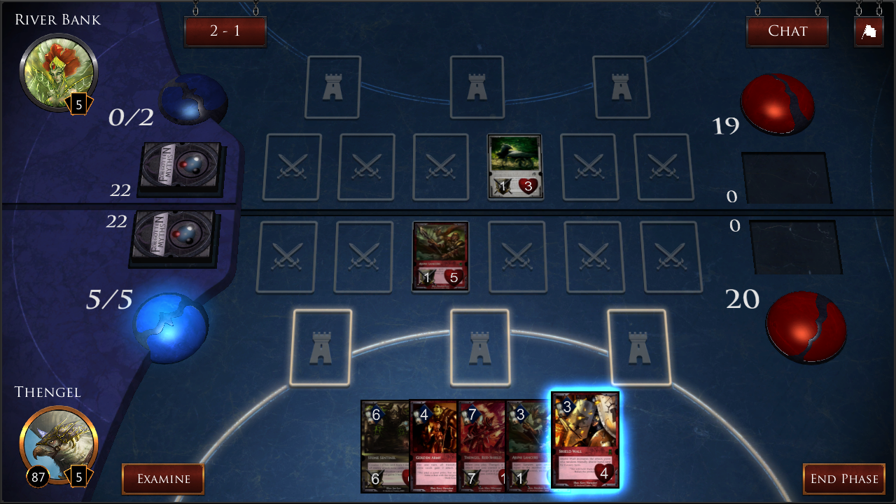 Forgotten Myths CCG- screenshot