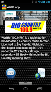 WWBR App - screenshot thumbnail