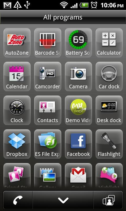 Espresso UI for MT4G 2.2.1 - screenshot