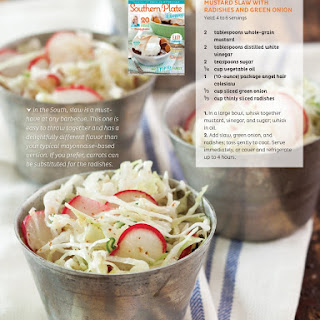 Mustard Slaw (from the SouthernPlate Mag!).