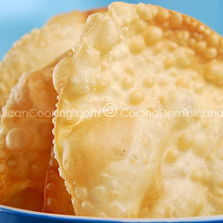 Yaniqueques Recipe (Fried Crispy Johnny Cake Tortillas).