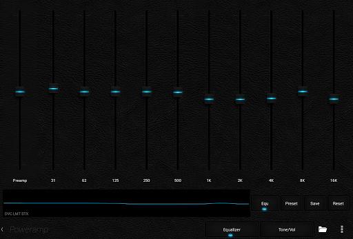 Skin for Poweramp Dark Leather  screenshots 11
