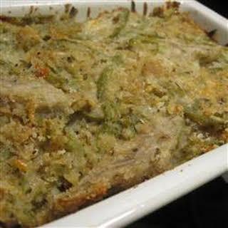 Green Bean Artichoke Casserole.