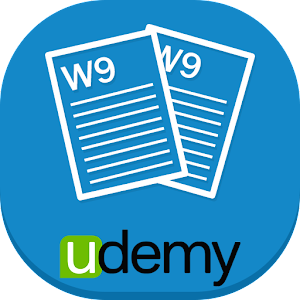 W-9 Forms For Business Icon