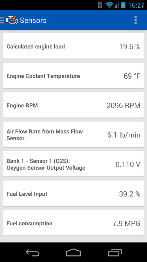 OBD Auto Doctor - screenshot