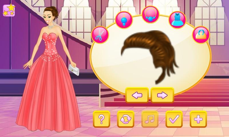 Elegant Prom Girl Dress Up - screenshot