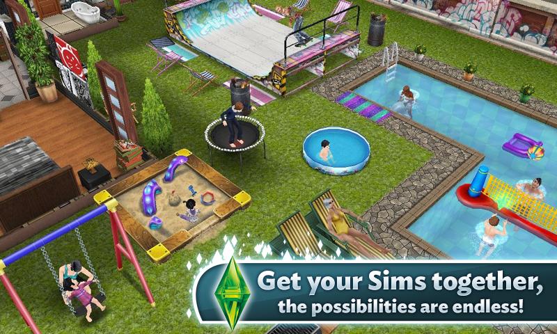 the sims freeplay, Representasikan Dirimu dalam Game Ini