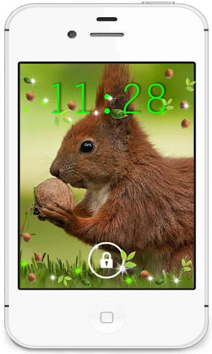 Squirrel Forest live wallpaper