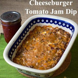 Bacon Cheeseburger Tomato Jam Dip