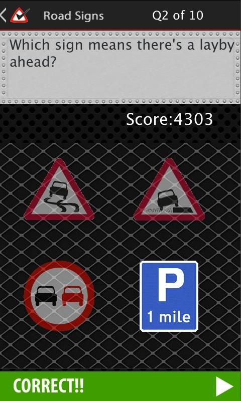 Road Signs Free- screenshot