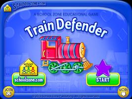 Screenshot of Train Defender