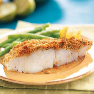 Crumb-Topped Baked Fish.