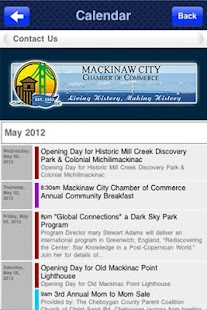 Mackinaw City Chamber- screenshot thumbnail