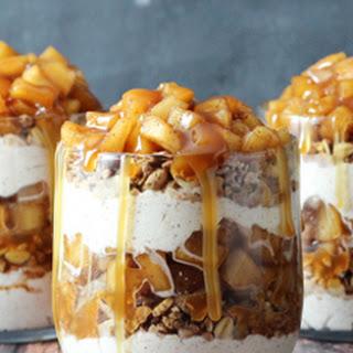 Caramel Apple Trifles.