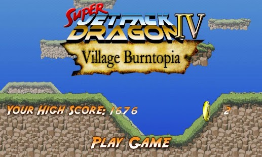 Super Jetpack Dragon IV - screenshot thumbnail