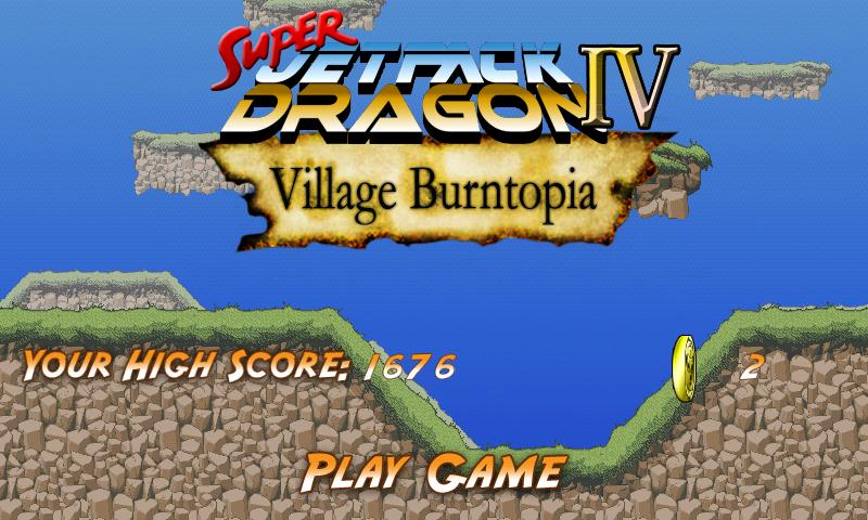 Super Jetpack Dragon IV- screenshot