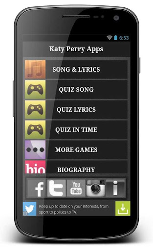 Katy Perry Songs and Games App