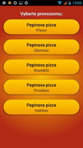 Pepinova pizza