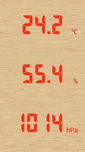 温度,湿度,气压计