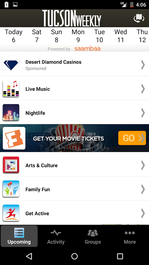 Best of TW - Tucson Events - screenshot