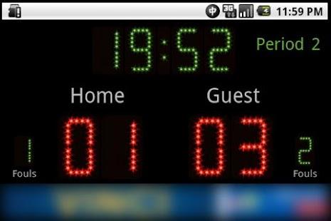 Scoreboard Futsal ++