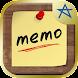 らくメモ ~らくチン&シンプルなふせん風メモ帳アプリ~ - Androidアプリ