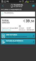 Screenshot of MEO Área de Cliente