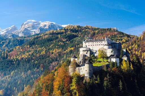 hohenwerfen-fortress-Austria - Hohenwerfen Castle near Werfen, Austria. Now that's what we call a castle!