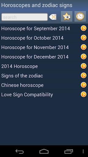 Horoscopes and zodiac signs