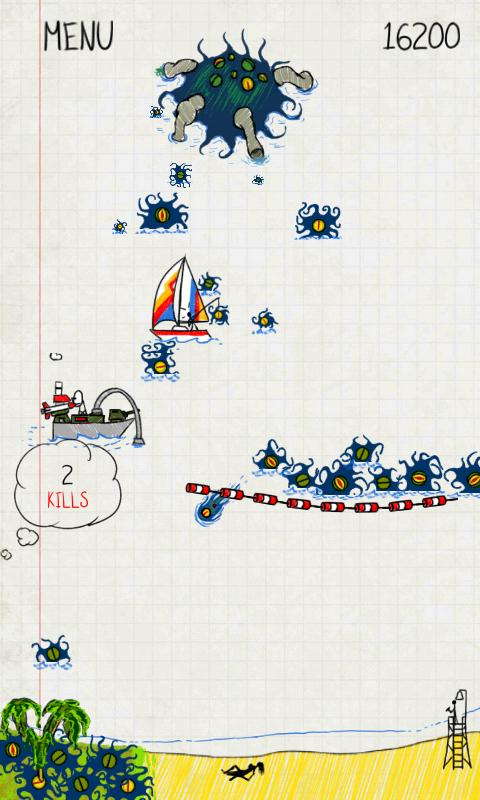 Doodle Invasion- screenshot