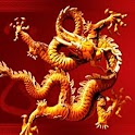 3D lucky dragon2 logo
