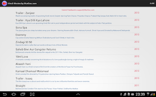 Screenshot of Hindi Movies App