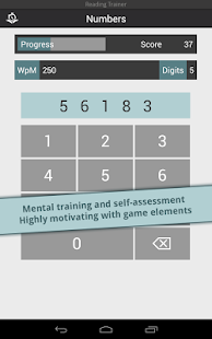 Reading Trainer - screenshot thumbnail
