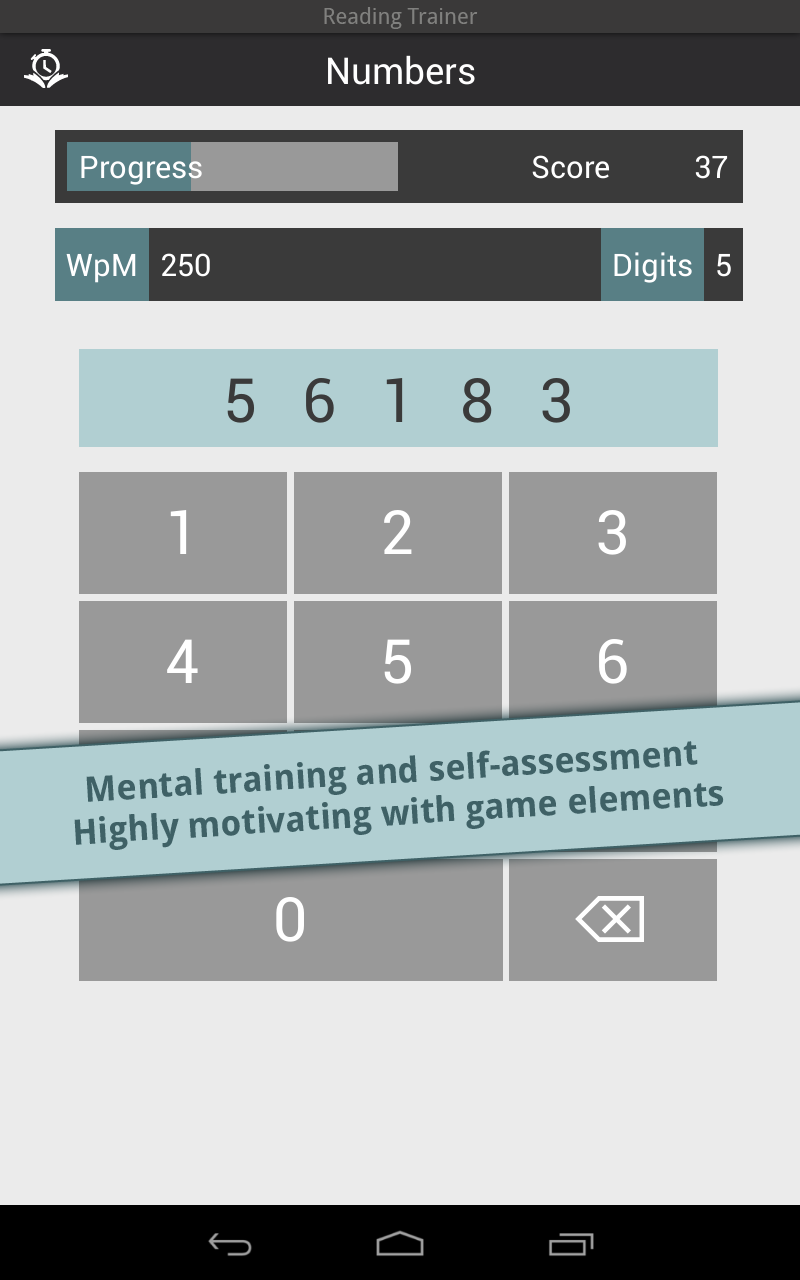 Reading Trainer screenshot #11