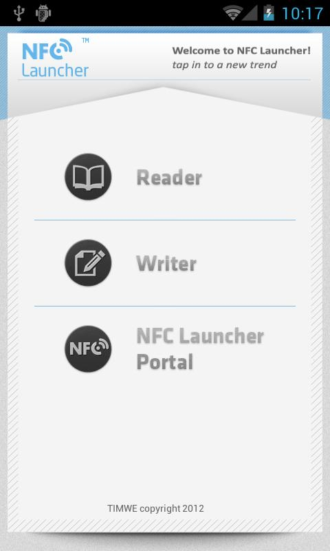 NFC Launcher - screenshot