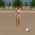 Volleyball sand (game) icon