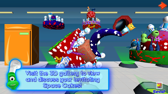 SPACE CAKES -math/numbers FREE- screenshot thumbnail