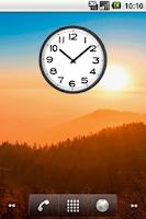 Screenshot of Simple Clock